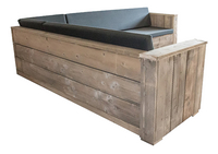 Dutchwood loungeset Country 250 x 300 cm-Achteraanzicht
