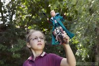 Harry Potter figuur Draco Malfoy Quidditch-Afbeelding 1