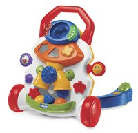 Chicco loophulpje Baby Steps Activity Walker wit