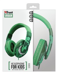 Trust casque Sonin Kids Jungle Camo vert-Avant