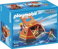 Playmobil City Action 5545 Reddingsvlot met drenkelingen