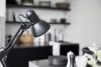 Lampe de bureau Hobby Steel noir-Image 1