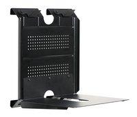 Houder voor muurbevestiging horizontaal console