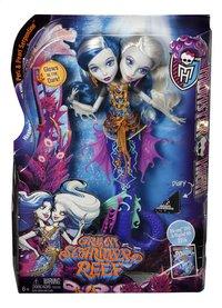 Monster High poupée mannequin  La grande barrière des frayeurs Peri & Pearl-Avant