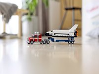 LEGO Creator 3-in-1 31091 Spaceshuttle transport-Afbeelding 6