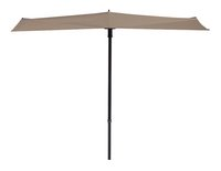 madison parasol de balcon sun wave o 3 m ecru