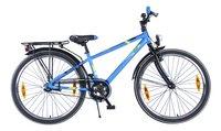 Citybike Blade 24/ bleu avec porte-bagages-Côté gauche