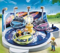 Playmobil Summer Fun 5554 Attraction avec effets lumineux-Avant