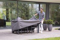 Outdoor Covers Premium beschermhoes voor tuinset L 185 x B 150 x H 95 cm polypropyleen-Afbeelding 3
