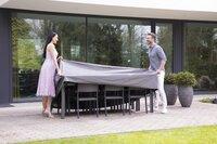 Outdoor Covers Premium beschermhoes voor tuinset L 245 x B 150 x H 95 cm polypropyleen-Afbeelding 4