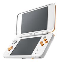 Nintendo Console 2DS XL  wit/oranje-Vooraanzicht