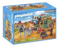 PLAYMOBIL Western 70013 Diligence du Far-West-Avant