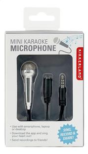 Kikkerland Mini Karaoke Microfoon-Vooraanzicht