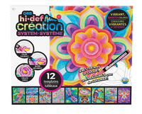 The Orb Factory Hi Def Creation levendige kleuren navulling Jungle-Vooraanzicht