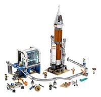 LEGO City 60228 Ruimteraket en vluchtleiding-Vooraanzicht