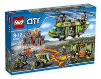 LEGO City 60125 L'hélicoptère de transport du volcan