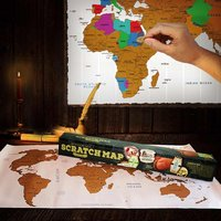 Scratch Map wereldkaart-Afbeelding 1