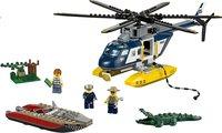 LEGO City 60067 La poursuite en hélicoptère-Avant