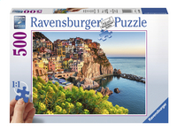 Ravensburger Puzzel Kleurrijk Italië-Vooraanzicht
