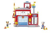 IMC Toys Mickey et ses amis : Top Départ ! La caserne de pompiers-commercieel beeld