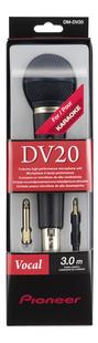 Pioneer microfoon DM-DV20-Vooraanzicht