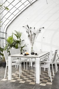 Tuinstoel Forios lichtgrijs/wit-Afbeelding 7