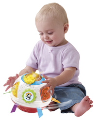 VTech dierendraaibal wit/rood NL-Image 1