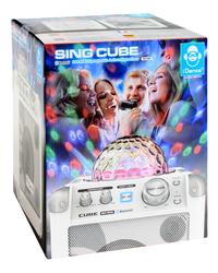 iDance haut-parleur Bluetooth Party Cube BC100 blanc