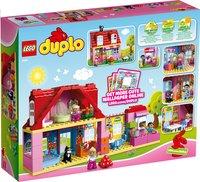 LEGO DUPLO 10505 Speelhuis-Achteraanzicht