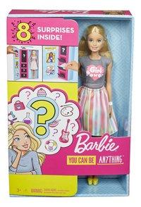 Barbie poupée mannequin  Careers Surprise - Girl Power-Avant