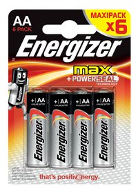 Energizer Max 6 AA-batterijen