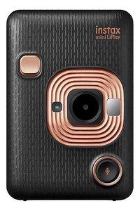 Fujifilm appareil photo instax mini LiPlay Elegant Black-Avant