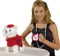 Chi Chi LOVE peluche interactive Poshi West Highland Terrier-Image 1