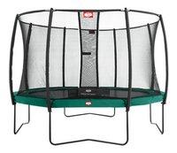 Berg trampolineset Champion Ø 3,80 m Green-Vooraanzicht
