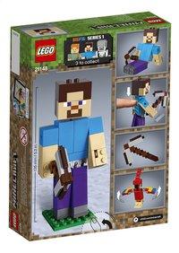 LEGO Minecraft 21148 BigFig Steve met papegaai-Achteraanzicht