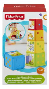 Fisher-Price stapelblokken Stack & Discover blocks