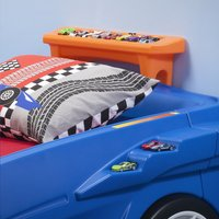 Bed Hot Wheels Race Car-Bovenaanzicht