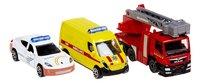 DreamLand hulpdienstvoertuigen - 3 stuks