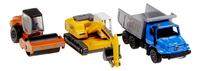 DreamLand véhicule de construction Liebherr R936 + Hamm H201 + Mercedes - 3 pièces