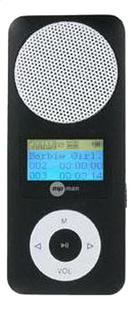 mpman mp3-speler Fiesta 2 2 GB zwart