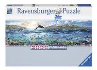 Ravensburger panoramapuzzel Levendige oceaan-Vooraanzicht