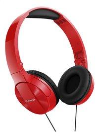 Pioneer Hoofdtelefoon SE-MJ503-R rood