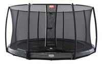 Berg trampoline enterré avec filet de sécurité Elite Inground Levels Ø 4,3 m Grey-Avant