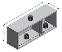 Wandrek In-Loft 55 eik/donker staal-Artikeldetail