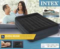 Intex Matelas gonflable pour 2 personnes Rising comfort Pillow rest Queen-Avant