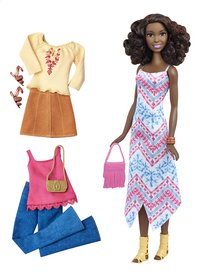 Barbie set de jeu Fashionistas Tall 45 - Boho Fringe