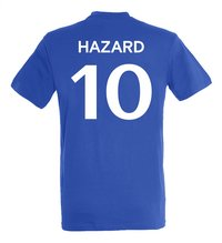 Voetbalshirt Chelsea FC Hazard-Achteraanzicht