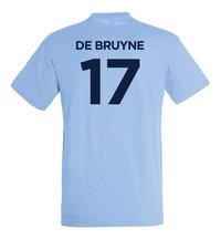 Voetbalshirt Manchester City De Bruyne-Achteraanzicht
