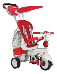 smarTrike driewieler 5-in-1 Dazzle rood/wit-Artikeldetail