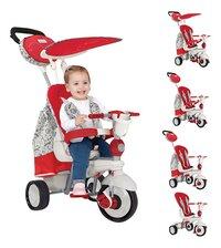 smarTrike driewieler 5-in-1 Dazzle rood/wit-Afbeelding 1